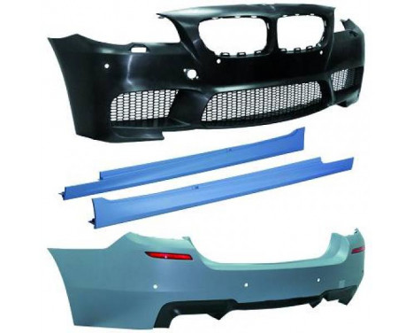 Bumperset BMW F10 2010-2013 M5-look
