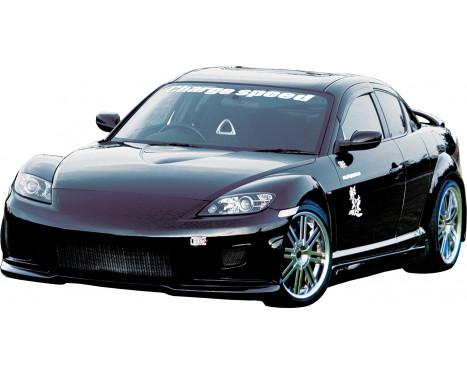 Chargespeed Voorbumper Mazda RX-8 SE3P (FRP), Afbeelding 2