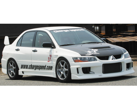 Chargespeed Voorbumper Mitsubishi Lancer EVO 8/9 CT9A Type1 (FRP), Afbeelding 2