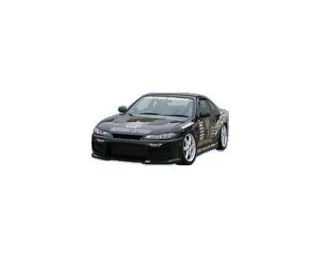 Chargespeed Voorbumper Nissan S15 240SX (FRP), Afbeelding 2