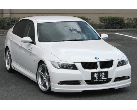 Chargespeed Voorspoiler BMW 3-Serie E90/E91 2005-2008 (FRP), Afbeelding 2
