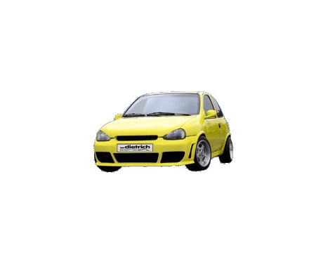 Dietrich Voorbumper Opel Corsa B 1993-2000, Afbeelding 2