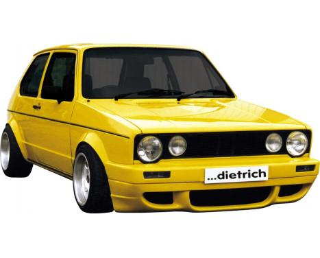 Dietrich Voorbumper Volkswagen Golf I & Cabrio 1974-