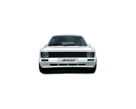 Dietrich Voorbumper Volkswagen Golf I & Cabrio 8/1974-