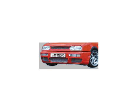 Dietrich Voorbumper Volkswagen Golf III & Golf Cabrio 1991-1997, Afbeelding 2