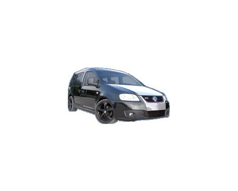 Dietrich Voorbumper Volkswagen Touran 2003-2006 & New Caddy 2004- 'SingleFrame', Afbeelding 2