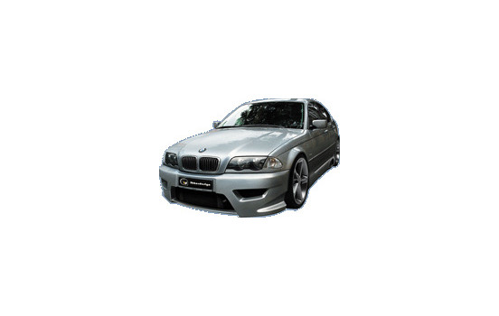 IBherdesign Voorbumper BMW 3-Serie E46 Tarchon incl. gaas