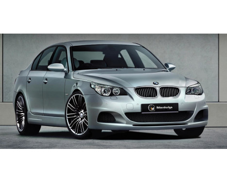 IBherdesign Voorbumper BMW 5-Serie E60/E61 7/2003- Sedan/Touring 'Kaiet' incl. PDC/Koplampsproeiers