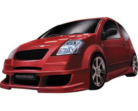 IBherdesign Voorbumper Citroën C2 -8/2008 'Apache' incl. gaas