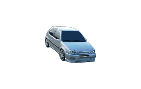 IBherdesign Voorbumper Citroën Saxo VTR/VTS 'Stealth'