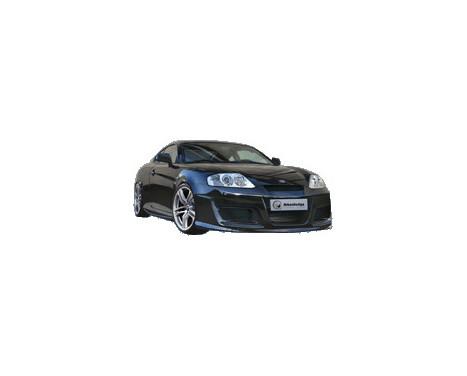IBherdesign Voorbumper Hyundai Coupe 2002- 'Outlaw', Afbeelding 2