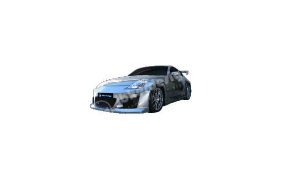 IBherdesign Voorbumper Nissan 350Z 'Venom' incl. gaas