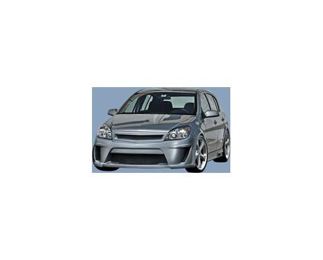 IBherdesign Voorbumper Opel Astra H 3/5-deurs 9/2003- 'Viruss', Afbeelding 2