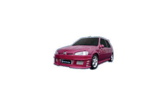 IBherdesign Voorbumper Peugeot 106 MKII 1996- 'Icon GT'