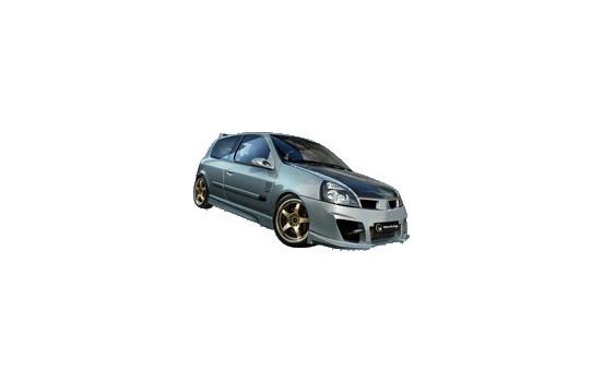 IBherdesign Voorbumper Renault Clio III 2001- 'Kombat Evo'