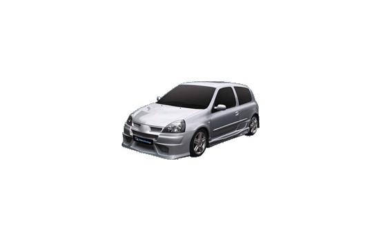 IBherdesign Voorbumper Renault Clio III 2001- 'Warp'