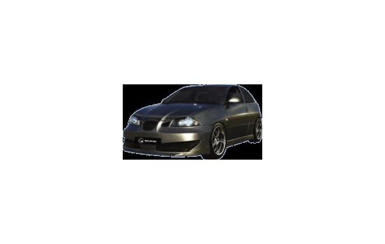 IBherdesign Voorbumper Seat Ibiza 2002- 'Vektor' incl. gaas