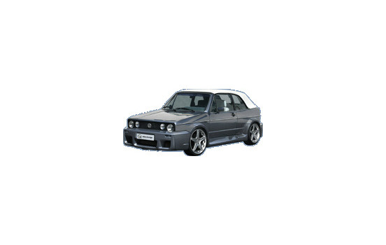 IBherdesign Voorbumper Volkswagen Golf I Cabrio 1992- 'Retrobution'