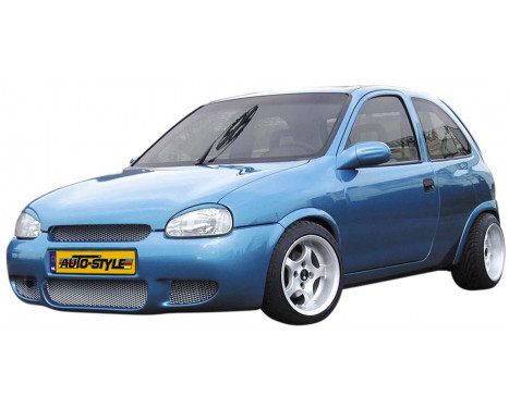 Maxpower Voorbumper 'RS' Opel Corsa B 1993-2000, Afbeelding 2