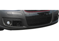 Set bumpergrills Volkswagen Golf V GTi/GT 2003- + Jetta 2005- incl. mistlampuitsparingen