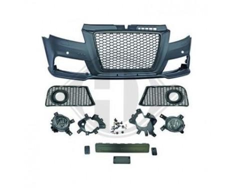 Voorbumper Audi A3 2008-2012 RS3-look, Afbeelding 2
