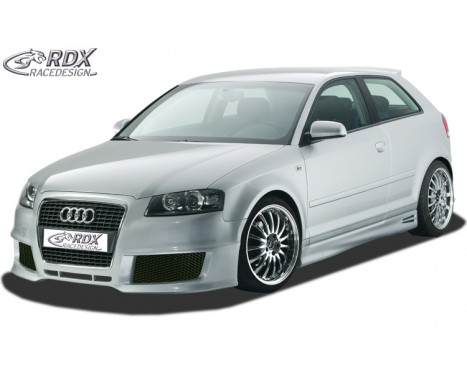 Voorbumper Audi A3 8P 3 deurs 2006-2008 + Sportback 2004-2008 'SingleFrame' (GFK)