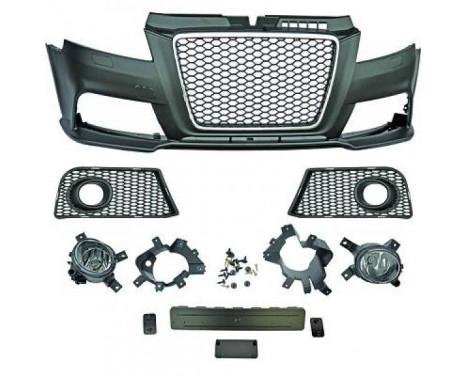 Voorbumper Audi A3 Lim./Sportb./Cabrio -RS3 Look