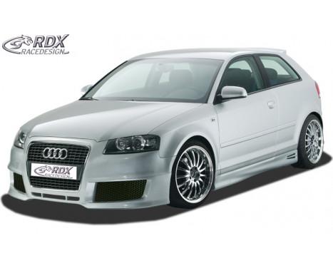Voorbumper + SWR Audi A3 8P 3 deurs 2003-2005 'SingleFrame 2' (GFK)