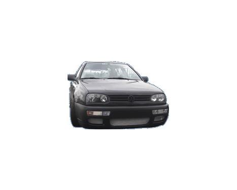 Voorbumper Volkswagen Golf III 1991-1997 'R-Look' (ABS), Afbeelding 2