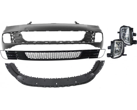 Voorbumper Volkswagen Golf VI 2008-2012 'GTi-Look' ABS (A-Kwaliteit)