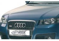 Motorkapverlenger Audi A4 8E/B6 2001-2004 'SingleFrame' (Metaal)
