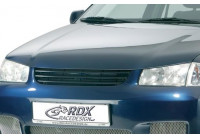 Motorkapverlenger Volkswagen Polo 6N2 1999-2001 + geïntegreerd half maantje (Metaal)
