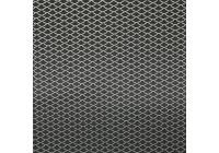 Racegaas aluminium - ruitdesign 11x5mm - 125x25cm