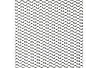 Racegaas aluminium - ruitdesign 16x8mm - 125x25cm