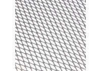 Grillgaas alu 30x90cm wafel zilver