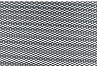 Simoni Racing Zwart Aluminium racegaas - 125x20cm - ruit 2.3x5mm
