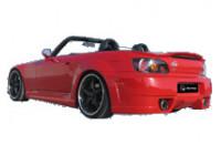 IBherdesign Spatbordverbreders 'achter' Honda S2000 'Taipen'