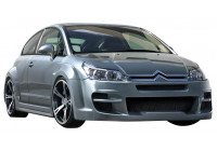 IBherdesign Spatbordverbreders 'voor' Citroën C4 Coupe 'Sindrome Wide'