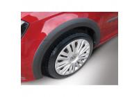 RGM Set spatbordverbreders Volkswagen Caddy 2015- - linker schuifdeur - Zwart