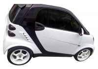 Spatbordverbreders MCC Smart ForTwo 4/2007- (4-delig) (ABS)
