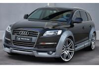 IBherdesign Spatbordverbreders 'voor' Audi Q7 excl. S-Line 'Czar Wide' (4-delig)