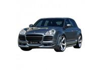 IBherdesign Spatbordverbreders 'voor' Porsche Cayenne Turbo 2002-2006 'Ventus Wide'