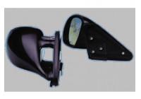 Set universele sportspiegels 'K3' zwart (electrische verstelling 4-draads)