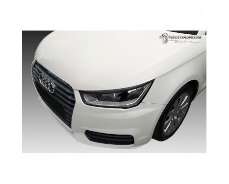 Koplampspoilers Audi A1 (8X) 3/5-deurs 2010-2018 (ABS)
