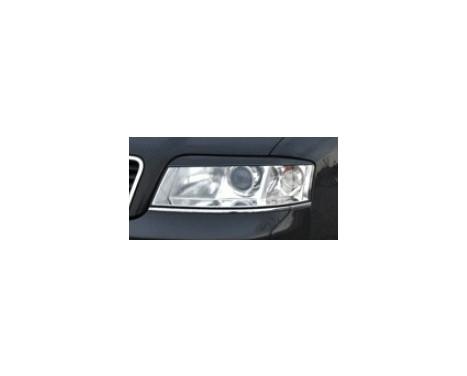 Koplampspoilers Audi A6 4B/C5 2001-2004 (ABS)