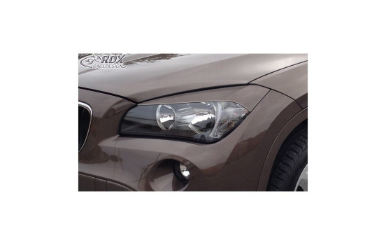 Koplampspoilers BMW X1 E84 2009-2012 (ABS)