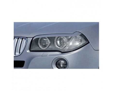 Koplampspoilers BMW X3 E83 2004-2010 (ABS)