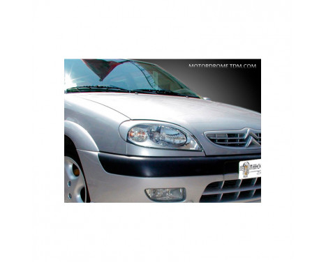 Koplampspoilers Citroën Saxo 1999-2003 (ABS)
