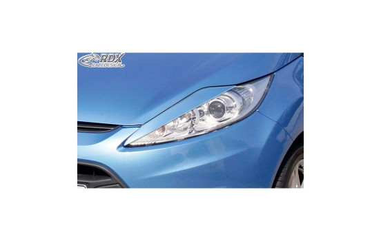 Koplampspoilers Ford Fiesta VI 2008-2012 (ABS)