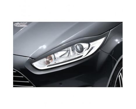 Koplampspoilers Ford Fiesta VI Facelift 2012-2017 (ABS)